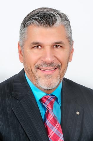 M. Michel Caron, DG Caisse Desjardins Alma