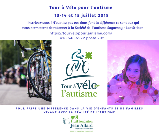 Promo Tour à Vélo 2018